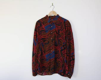 Retro Victor Emmanuel Button-up