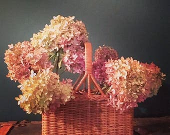 Stained Basket For Floral Arrangements, Gifts, Wine Bottles, Cutlery, & More!