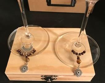 Wine Glass Jewelry - Sassy & Sophisticated