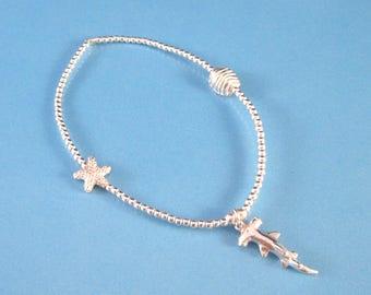 Hammerhead Shark Bracelet