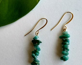 Kalahali's Amazonite Bohemian Energy Earrings