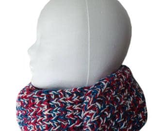 Scarf Blue-white-red