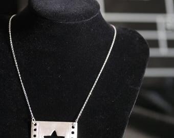 Love Cinema Statement Necklace - Star