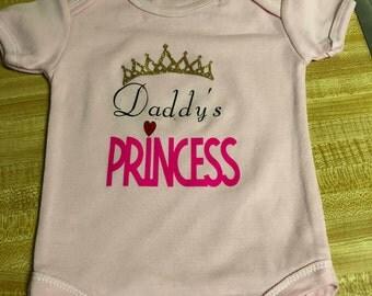 Princess onesie/Daddy