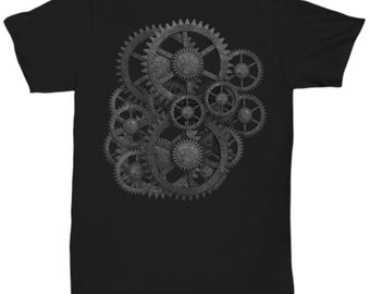 Dark Gears Steampunk T-Shirt
