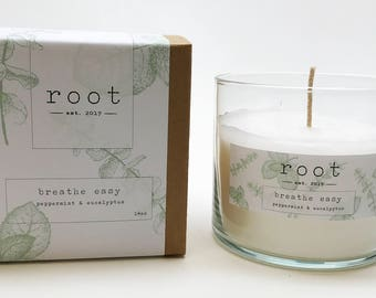 Root Breathe Easy Candle