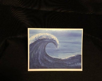 Blank Wave Cards