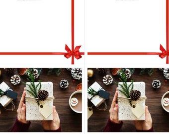 Christmas Cards | Folded