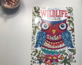 Adult Coloring Book-Wildlife to Color