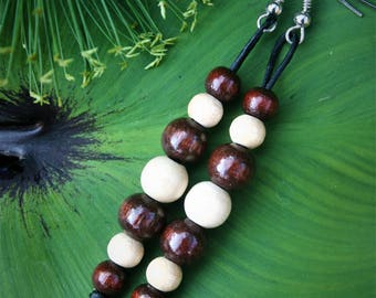 Wooden Beads Pendant