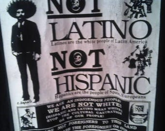 Mexican Not Latino Not Hispanic  mexicamovement.org