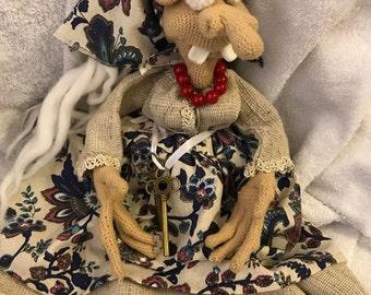 Baba Yaga (Baba Yaga) An old woman is a sorceress of Russian fairy tales.