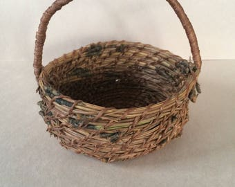 Pine Needle basket Small