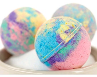 Marble bathbombs
