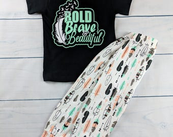 Bold, Brave, Beautiful 2T outfit