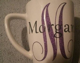 12 oz Personalized coffee mug