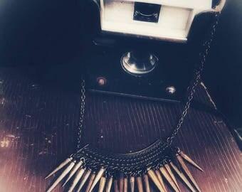 Vintage metallic necklace