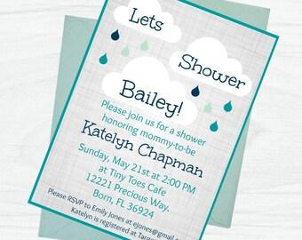 Baby 'Shower' Invite