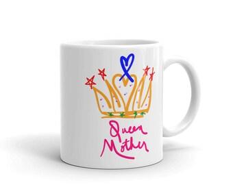 Queen Mother Mother's Day Queen of Hearts Mug