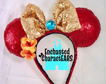 Elena Ears Elena of Avalor Ears Custom Minnie Ears