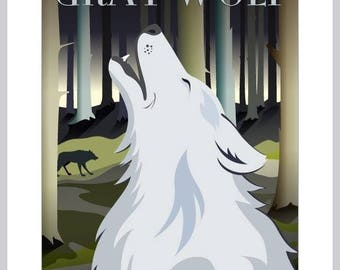 Card: The Gray Wolf