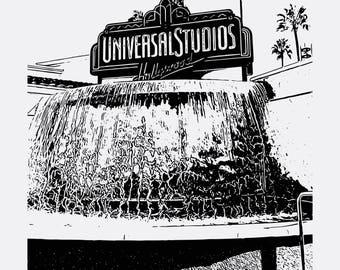 Universal Studios Drawing