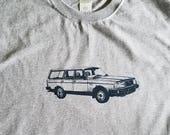 Volvo 240 Wagon Tee Shirt Sport Gray