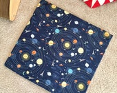 Solar System Space Organic Catnip Mat Toy By For Mew, Refillable, Washable, Cat Bed, Cat Furniture, Gift For Cat Lovers