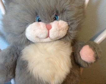 Rare Vintage Talking Cat Plush Feelin Special Pets