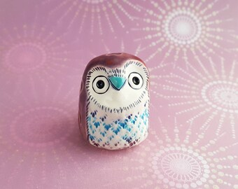 Mary the Owl Handmade Figurine