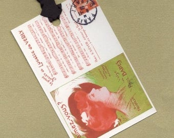 On Sale M'aimez - vous for Someone Special - Six Gift Tags, Hang Tags, Bookmarks  PSS 0419