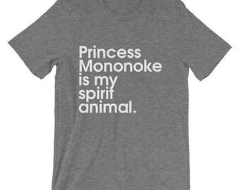 Princess Mononoke Mononoke Shirt Mononoke Ghibli Mononoke T Shirt Mononoke TShirt Mononoke Tee Mononoke T-Shirt Mononoke Cosplay