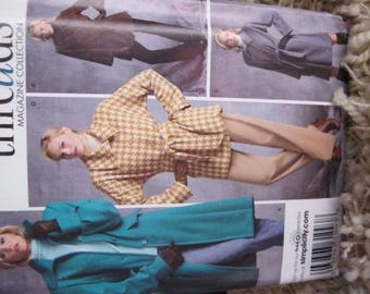 New/Uncut - Simplicity Threads Magazine Collection Sewing Pattern 3562 - Lined Coats