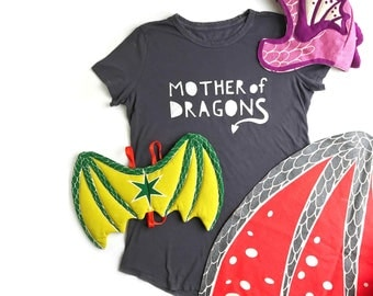 Mother of Dragons T-Shirt, Halloween Costume, GOT, Mom T-Shirt, Dragon Costume, Game of Thrones