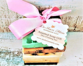 Soap Samples - Assorted Soap - Soap Gift - Soap Ends - Vegan Soap - Soap Set