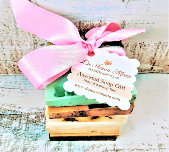 Soap Samples - Assorted Soap - Soap Gift - Soap Ends - Vegan Soap - Soap Set