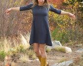 Chanvre Aster - vêtements bio pour femmes - éco-Tunique robe