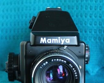 Mamiya 645e Medium format Camera with 80mm Lens