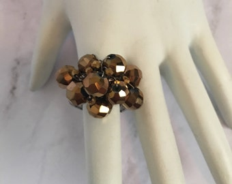 Brown cluster ring