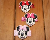 Magical Girl Mouse Clippie , Choose Your Favorite Themed Hair Clip