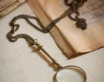 Magnifying Glass on a Chain - Chatelaine