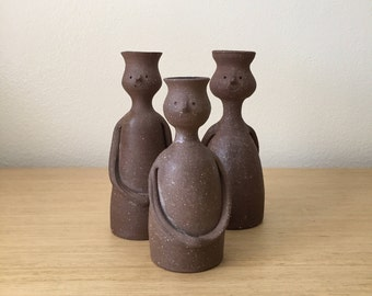 rosemary taylor figurine candle holders