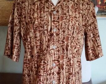 Men's Hawaiian Shirt Size Tall Large
