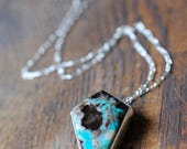 Dark Forest Necklace Petrified Colla Wood