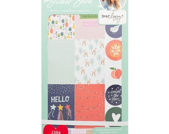 Dear Lizzy Designer #Sticker Book American Crafts Planner Sticker (344861)