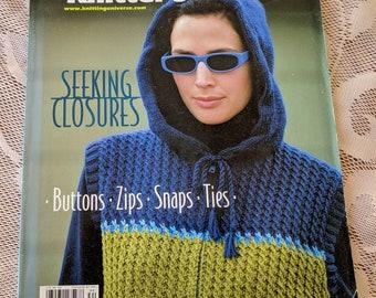 Knitting Magazine from Knitting Universe, Winter 2003 - Knitting Patterns for Women, Men and Children