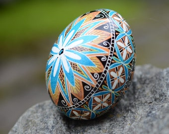 Pysanka egg most popular egg in my shop in turquoise or in pink baby boy girl shower gift Easter gift season greetings send this to mom