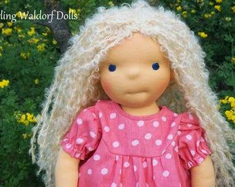 """Waldorf Doll Nefili, 15"""" OOAK doll"""