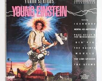 VERY RARE Young Einstein Vinyl LP Soundtrack -- Sealed