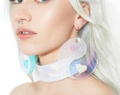 Yin Yang Love Hologram Earrings (Pre order)